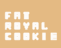 Fat Royal Cookie - font
