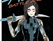 Alita: Battle Angel alternative movie poster