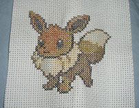 Eevee Cross Stitch
