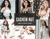 Free Cashew Nut Mobile & Desktop Lightroom Presets