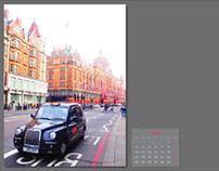 2013 Calendar: London / Barcelona