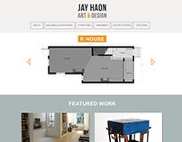 Portfolio Website Layout