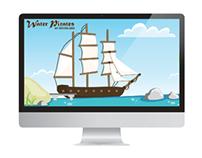 WP & MAM Website | Student - Client Project | 2012