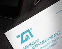 MEHRDAD ZAVAREH MOHAMMADI / Letterhead & Business Card