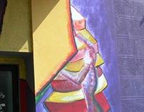 Mural 2 at Kraljevo, Serbia