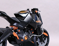 Motorcycle design and model - Spada.