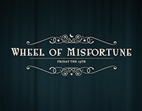 Friday the 13th: Wheel of Misfortune Microsite