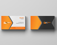 Free 4 Color Business Card - Free Download