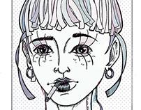 Os Últimos Pontos no Pano -  (Graphic Novel)