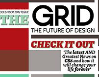 Typographic Magazine Layout