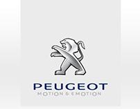 Peugeot eMag - Online Magazine Design