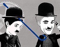 The Chaplin Brothers Illustrations
