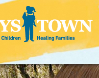 Boys Town website redesign