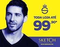 Campanha Nova Serrana - Sketch Men's Collection