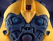 Transformers Bumblebee Birthday Cake