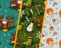 Christmas Themes for ICQ & Agent Mail.ru