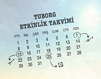 Tuborg Event Calendar