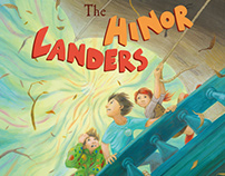 Lawrence Littlefoot books: illustrations, cover design