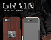 GRAIN Case : High-end Wood iPhone case