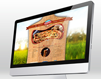 Atlantic Pizza Netherlands Logo & Web Design
