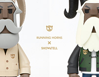 RUNNING HORNS X SHOW & TELL