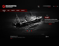 Magadanryba Website