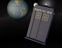 Doctor Who Tardis | 3D Model & Animation