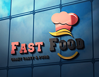 Fast Food Logo (Free Mock up Psd)