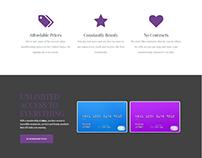 Membership and Prices - Salon WordPress Theme