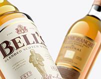 Whisky Mockup - Scotch vol. 1