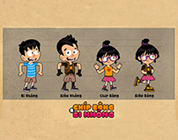 "Character in ""ChipBong&BiNhong"""