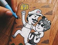 Libreta: Mario & Minnie