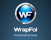 Wrapfol Website and Logotype