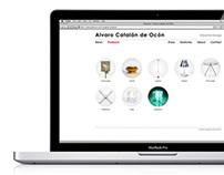ÁLVARO CATALÁN DE OCÓN — website