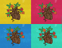 Flourishing Heart Illustration