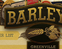 Barleys Greenville Website