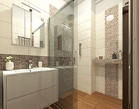 Small modern bathroom