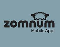 Zomnum - Aplicación Mobile