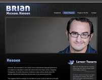 Brian Hansen Website