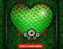 Corazones Planta / Microsite