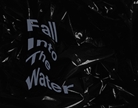 Fall Into The Water album cover design