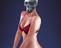 Woman skull - Wacom