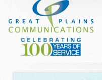 Great Plains Communication website redesign