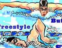Sports Action Illustration