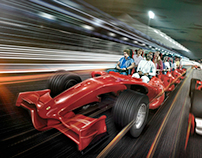 Ferrari World Launch Campaign