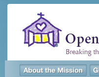 Open Door Mission website redesign