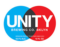 UNITY Brewing Company Logo Design