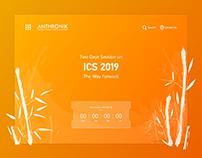Anthronik - Website UI Design