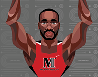McPherson College Track & Field Posters