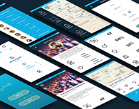 FIND IT App | Logo, Brand manual & UI